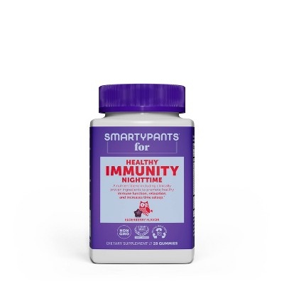 SmartyPants Healthy Adult Nighttime Immunity Gummies - 28ct