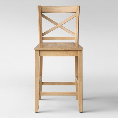 "24"" Carey Hardwood Counter Height Barstool - Threshold™"