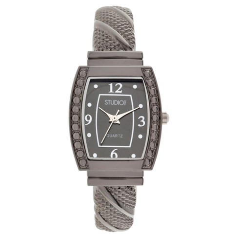 Women's Studio Time® Bangle Watch - Gray - image 1 of 1