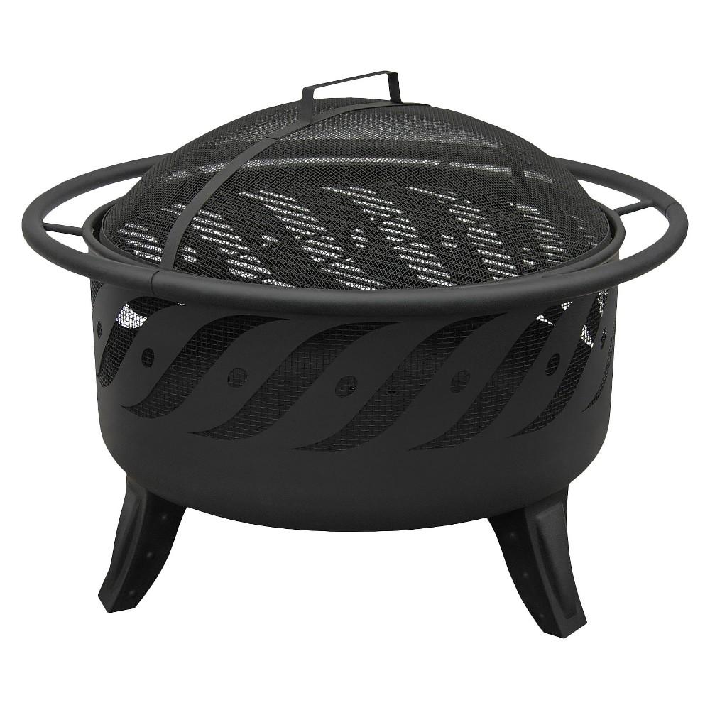 Landmann Firewave Fire Pit - Black