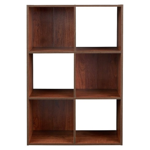 Closetmaid Cubeicals 6 Cube Organizer Shelf Dark Cherry Target
