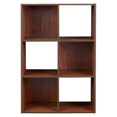 ClosetMaid Cubeicals 6 Cube Organizer Shelf   Dark Cherry : Target
