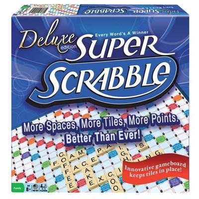 Winning Moves Tile Lock Super Scrabble Game