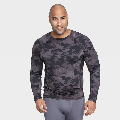 Men's Long Sleeve Fitted T-Shirt - All in Motion™