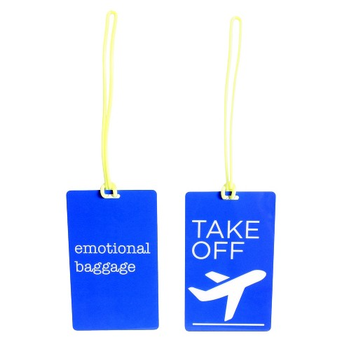 Luggage Tag 2 Piece Set - image 1 of 9