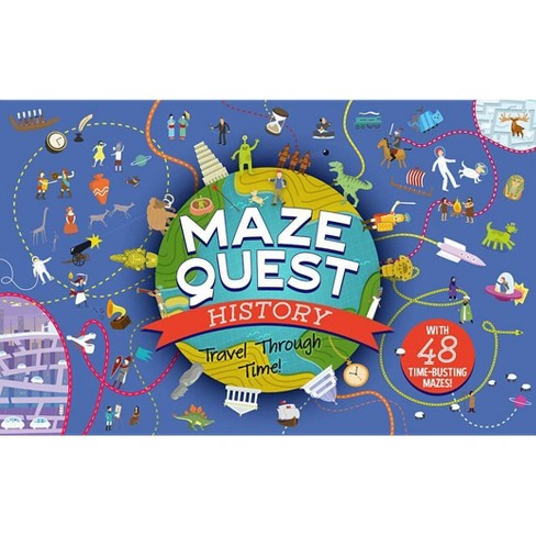 Maze Quest History - (Paperback) - image 1 of 1