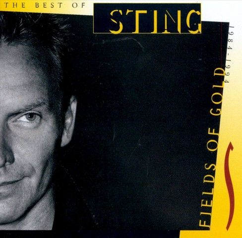 Sting - Fields of gold:The best of sting (CD) - image 1 of 1