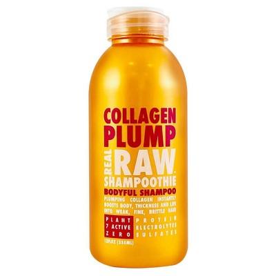 Real Raw Shampoothie Collagen Plump Shampoo - 12 fl oz
