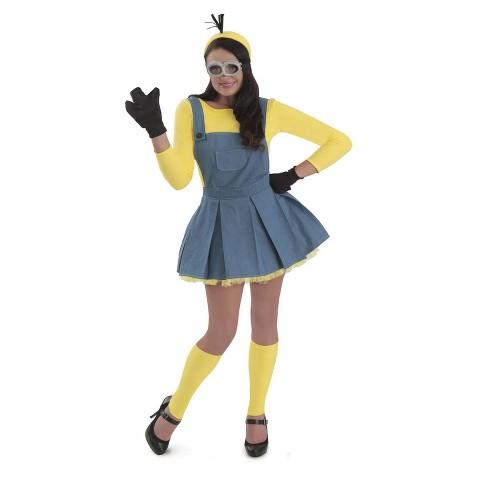 Women's Minions Jumper Halloween Costume M - image 1 of 1