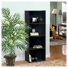 "46.5"" 4 Shelf Bookcase Black - Home Source - image 2 of 2"