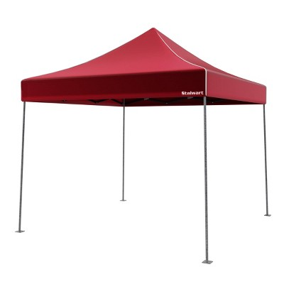 Wakeman Canopy Outdoor Party Shade Tent - Red