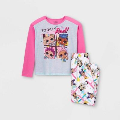 Girls' L.O.L. Surprise! 2pc Pajama Set - Pink
