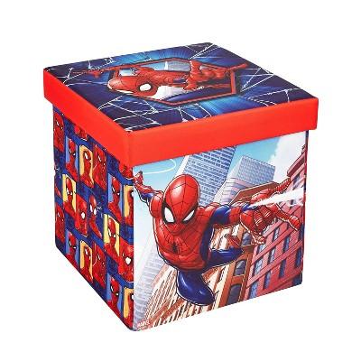 "15"" Spider-Man Folding Ottoman"