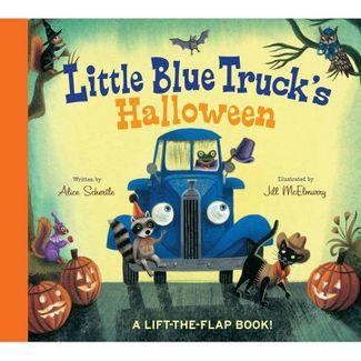 Little Blue Truck's Halloween - by Alice Schertle (Board Book)