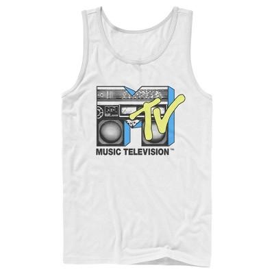 Men's MTV Retro Stereo Logo Tank Top