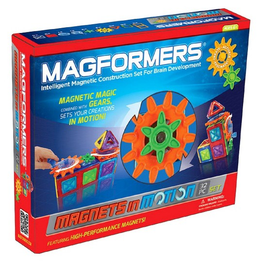 Magformers Magnets in Motion - 32Pc image number null