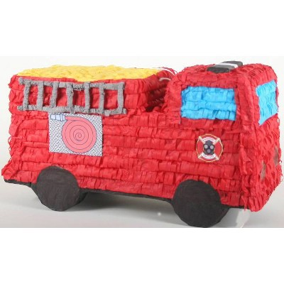 Fire Engine Piñata Party Decorative Accessory Red - Spritz™