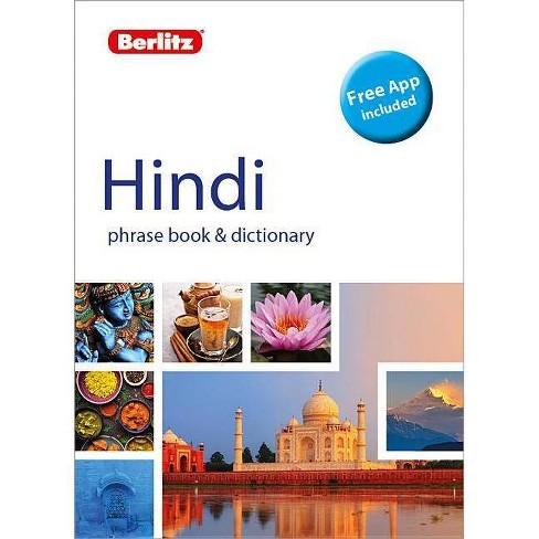 Berlitz Phrase Book & Dictionary Hindi(bilingual Dictionary) - (Berlitz Phrasebooks) 5(Paperback) - image 1 of 1