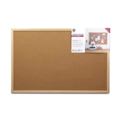 516b8a762fc Ubrands Wood Frame Bulletin Board - 23