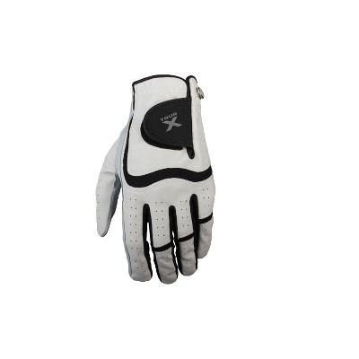 Tour X Combo Golf Gloves with Cabretta Leather Palms, Mens Left Hand Gloves, 3 Pack