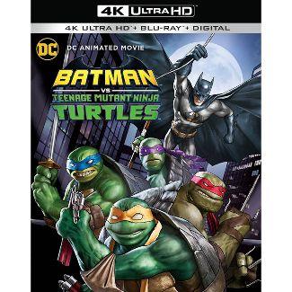 Batman Vs. Teenage Mutant Ninja Turtles (4K/UHD + Blu-Ray + Digital)