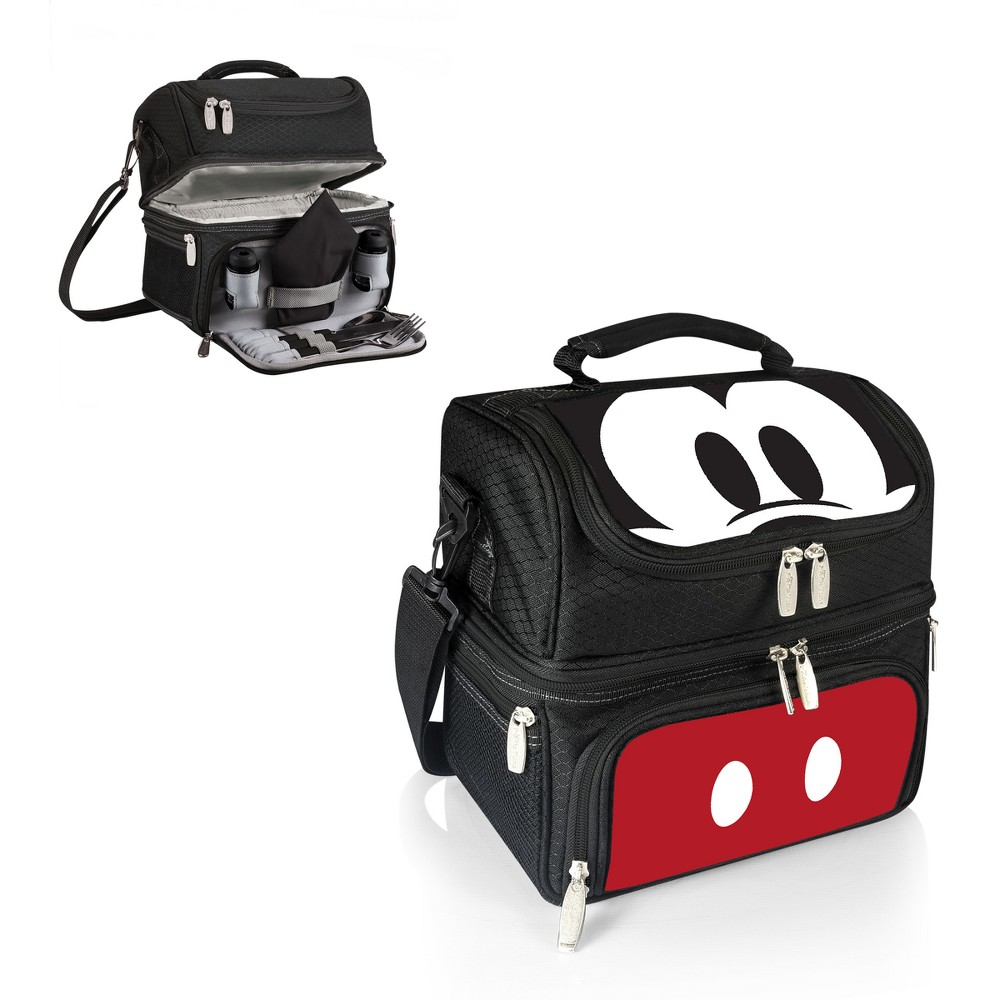 Image of Picnic Time Disney Mickey Mouse & Friends Mickey Mouse Lunch Tote - Black
