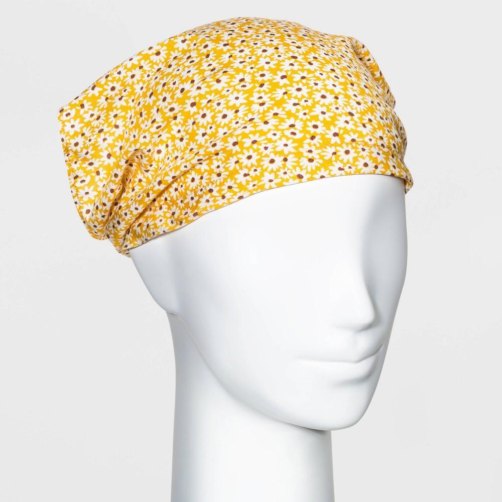 Daisy Headscarf Wild Fable 8482 Yellow