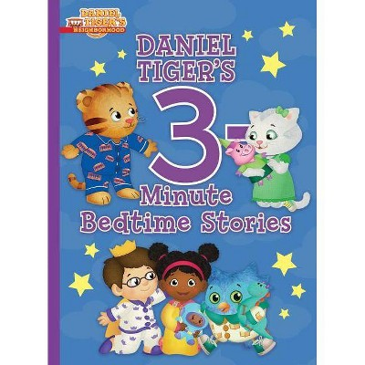 Daniel Tiger's 3-Minute Bedtime Stories - (Daniel Tiger's Neighborhood) by  Various (Hardcover)