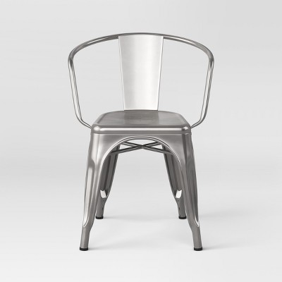 view Carlisle Metal Dining Chair - Threshold on target.com. Opens in a new tab.