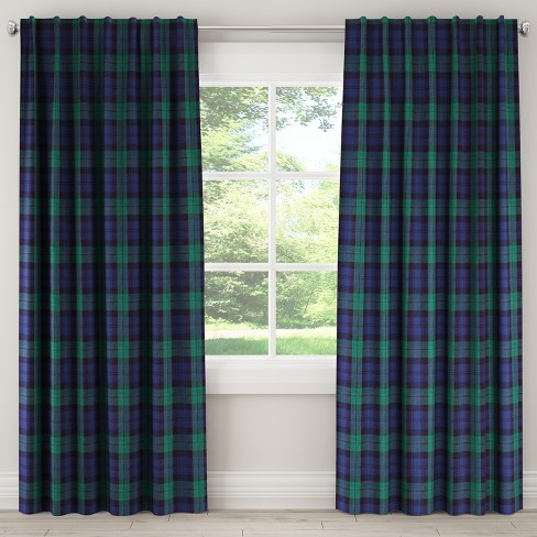 Unlined Curtain Blackwatch - Skyline Furniture - image 1 of 4