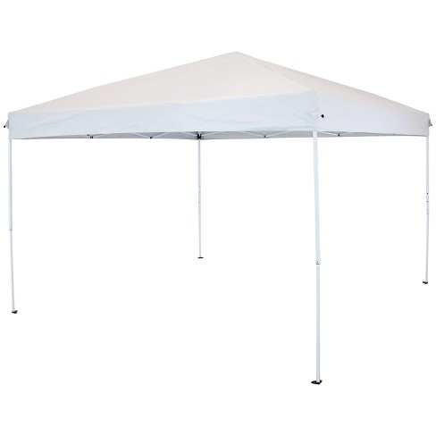 12'x12' Quick-Up Steel Frame Canopy with Carrying Bag White - Sunnydaze - image 1 of 4