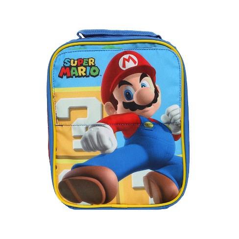 bb4d489941 Nintendo Kids  Lunch Bag - Super Mario   Target