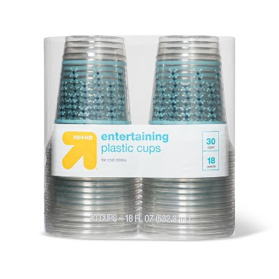 Entertaining Disposable Plastic Cups for Cold Drinks - 30ct - up & up™