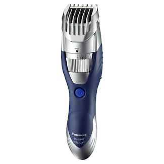Panasonic Hair-Beard & Body Wet& Dry Men's Rechargeable Electric Trimmer - ER-GB40-S
