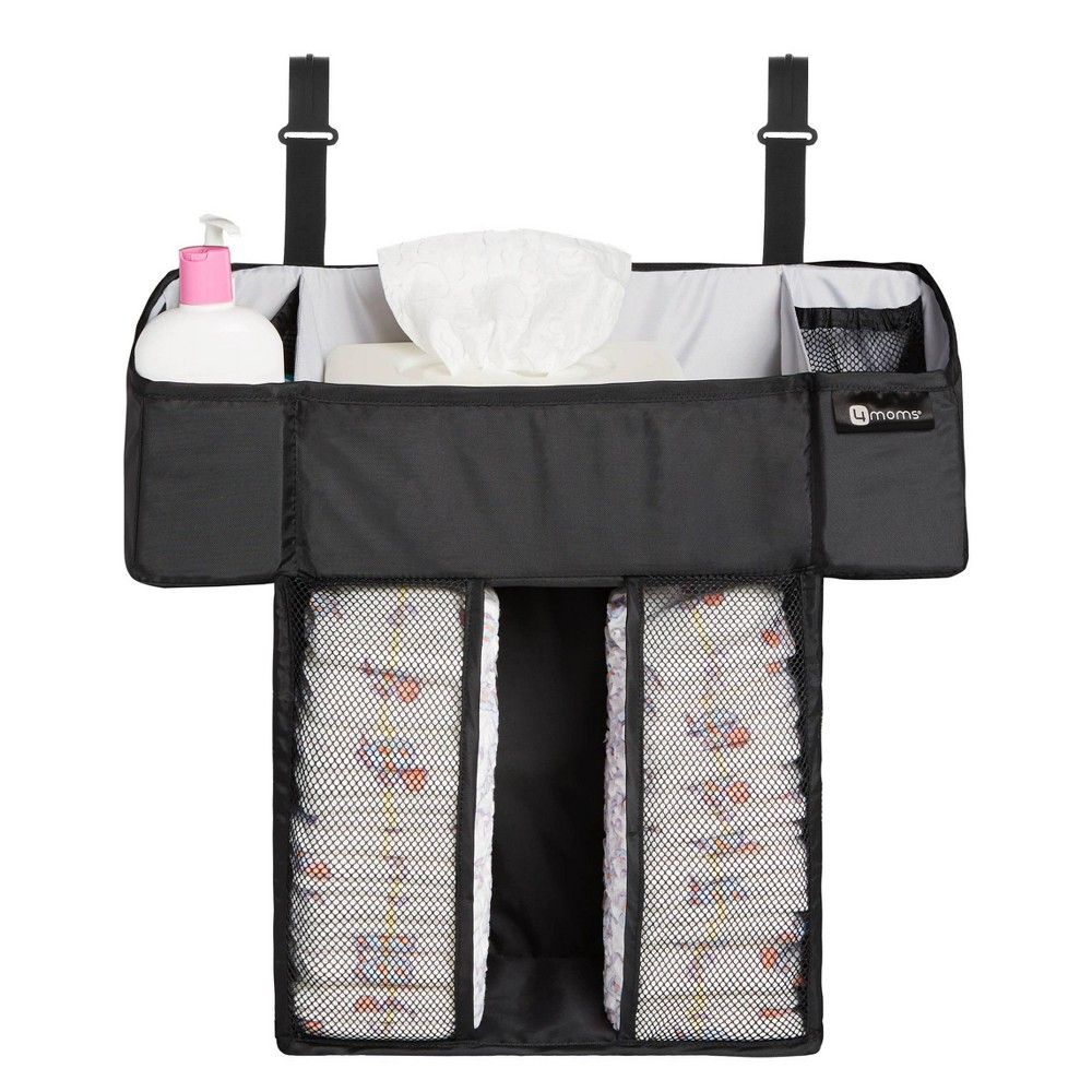 Image of 4moms Breeze Diaper Caddy - Black