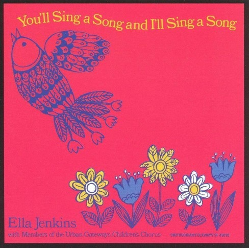 Ella jenkins - You'll sing a song & i'll sing a song (CD) - image 1 of 1