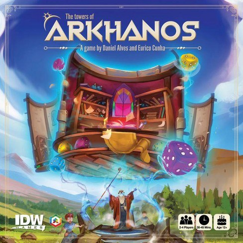 Towers of Arkhanos - Silver Lotus Order Expansion Board Game - image 1 of 1