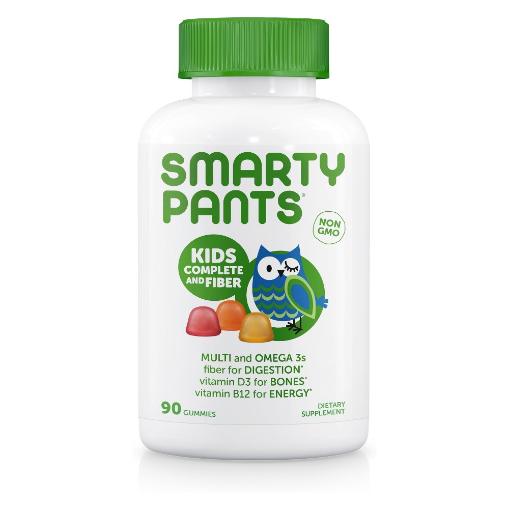 SmartyPants Kids Complete Multivitamin & Fiber Gummies - Lemon, Orange & Strawberry Banana - 90ct SmartyPants Kids Complete Multivitamin & Fiber Gummies - Lemon, Orange & Strawberry Banana - 90ct Gender: Unisex.