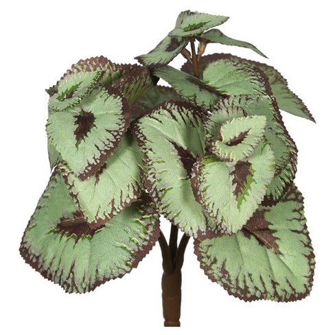 Artificial Begonia Bush 6/Bag Gray/Brown - Vickerman - image 1 of 1