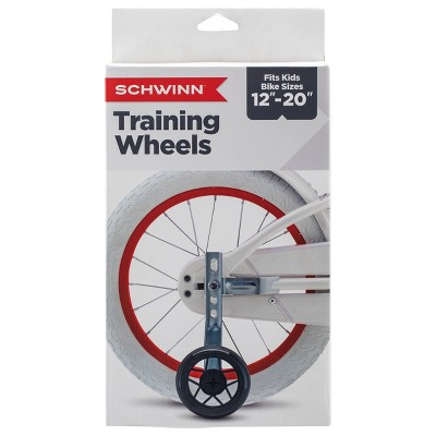 Schwinn Bike Training Wheels - Black