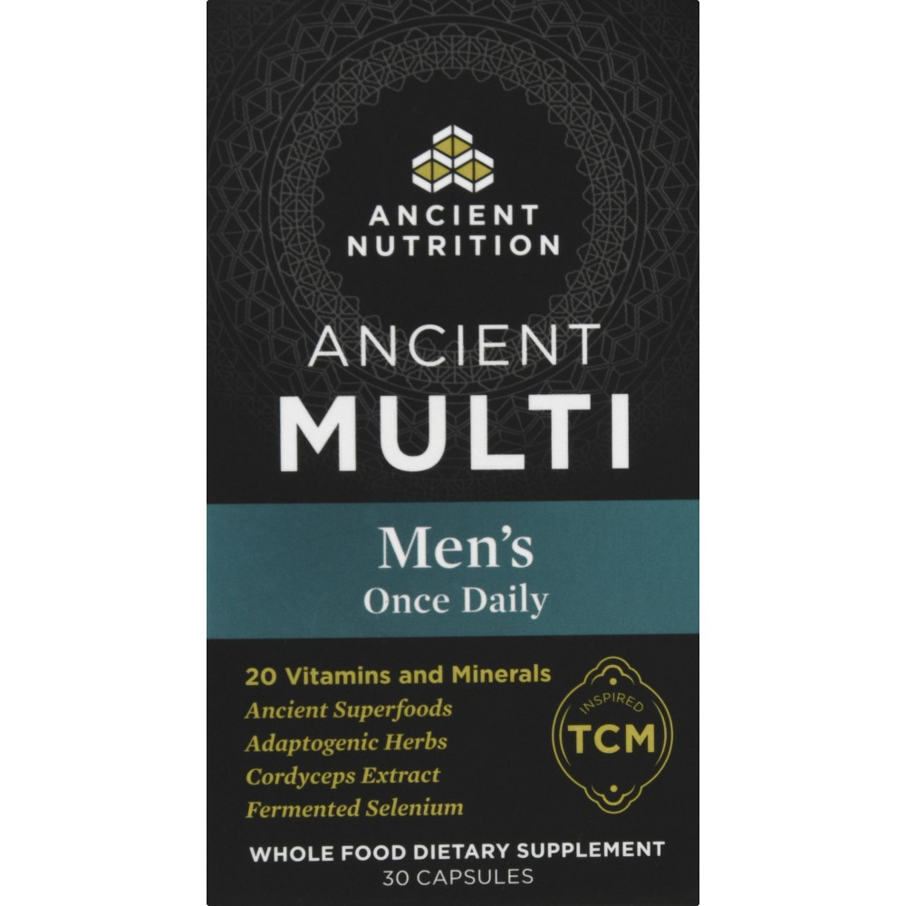 Ancient Nutrition Ancient Multi 39 S Men 39 S Once Daily Capsule 30ct