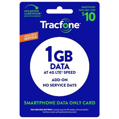 TracFone $10 Data Card (Email Delivery)