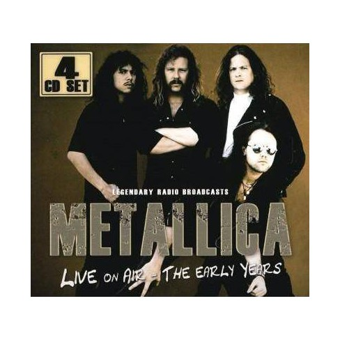 Metallica - Live On Air: The Early Years (CD) - image 1 of 1