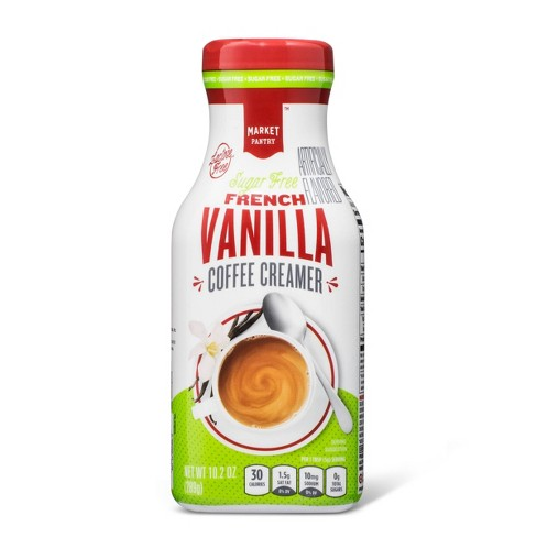 Sugar Free French Vanilla Coffee Creamer - 10.2oz - Market Pantry™ - image 1 of 1