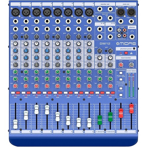 Midas DM12 12-channel Analog Mixer - image 1 of 5