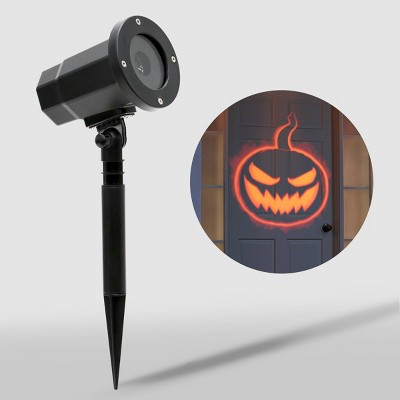 Philips LED Orange Jack-O'-Lantern Motion Projector Halloween Special Effects Light