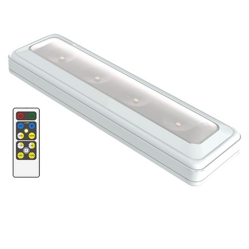 Brilliant Evolution Wireless Led Light Bar With Remote White Target