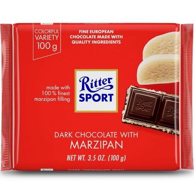 Ritter Sport Dark Chocolate with Marzipan Bar - 3.5oz