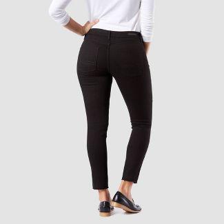 DENIZEN® from Levi's® Women's Mid-Rise Modern Ankle Skinny Jeans - Black Wash 8