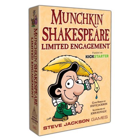 Munchkin Shakespeare - Limited Engagement Board Game - image 1 of 1